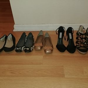 ✨5 pairs of Heels and Flats✨